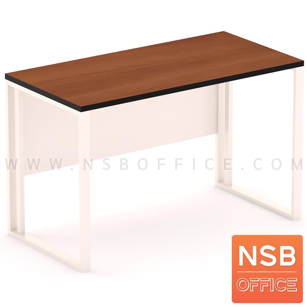 E02A056:โต๊ะทำงานเหล็กหน้าไม้ รุ่น Edgware (เอดจ์แวร์) ขนาด 120W, 150W cm.