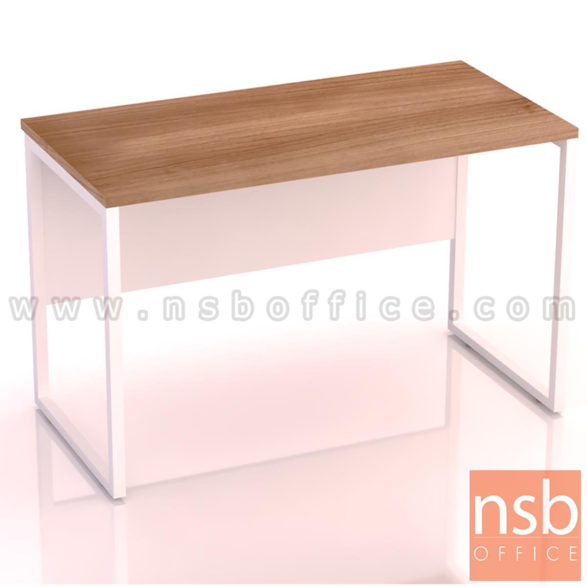 A18A037:โต๊ะทำงานทรงสี่เหลี่ยม รุ่น Moschino (มอสคิโน่) ขนาด 80W ,120W ,135W, 150W ,160W ,180W cm. ขาเหล็กกล่องพ่นสี