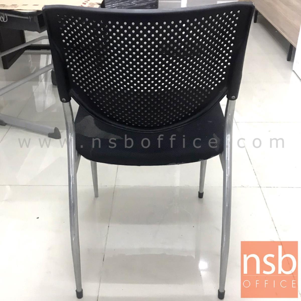 เก้าอี้เนกประสงค์  ขนาด 51W*82H cm. สีดำ (STOCK-1 ตัว)