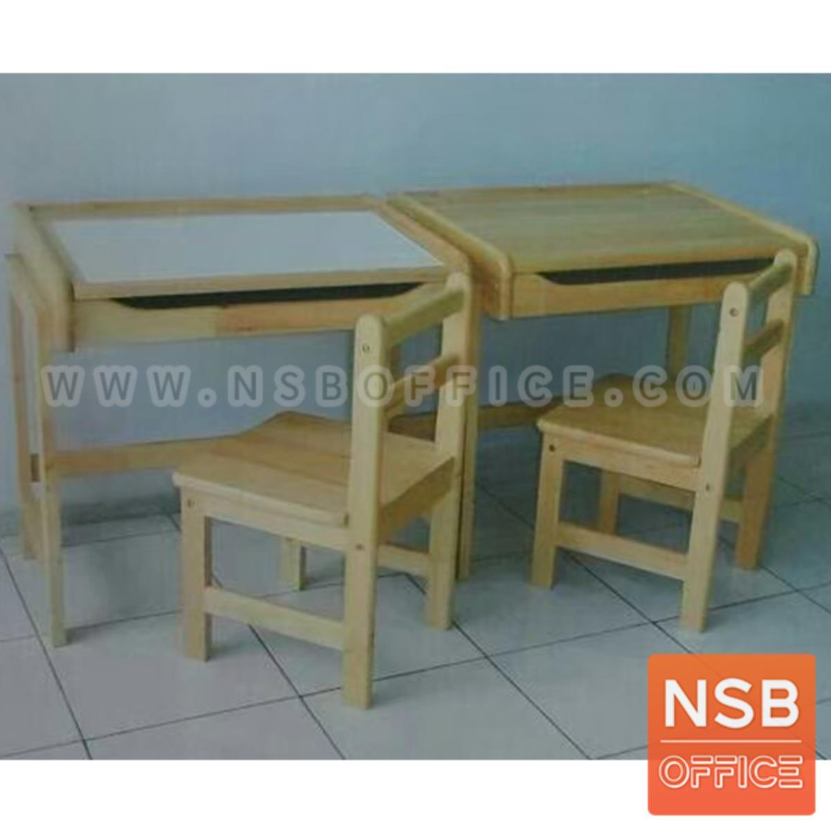 G20A016:ชุดโต๊ะและเก้าอี้นักเรียน รุ่น Cadena (เคเดนน่า)  มีที่เก็บของใต้โต๊ะ