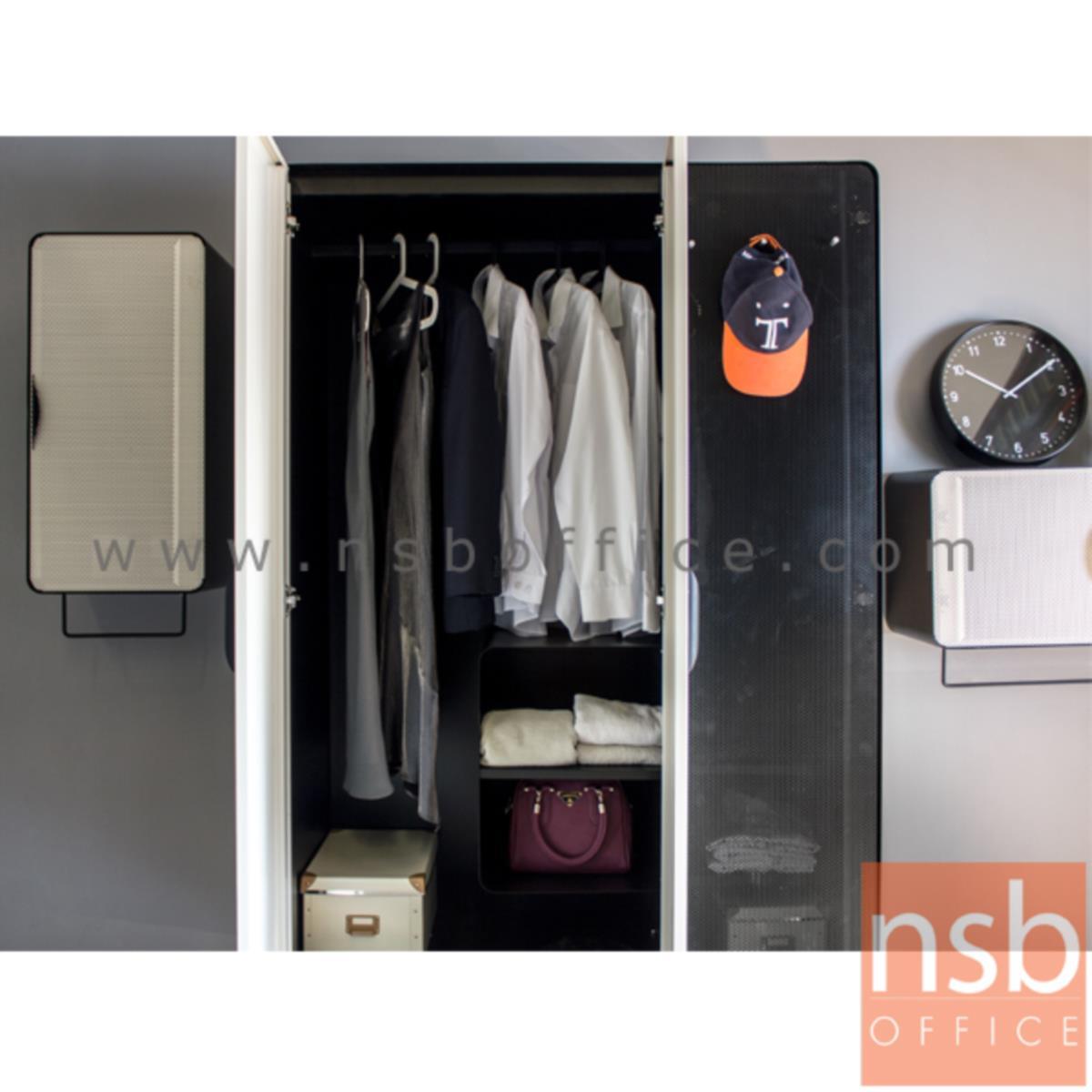 ชุดตู้เสื้อผ้ามุมมน 3 ชิ้น (ตู้เสื้อผ้า ตู้แขวนแนวตั้ง และตู้แขวนแนวนอน) รุ่น KO-PT