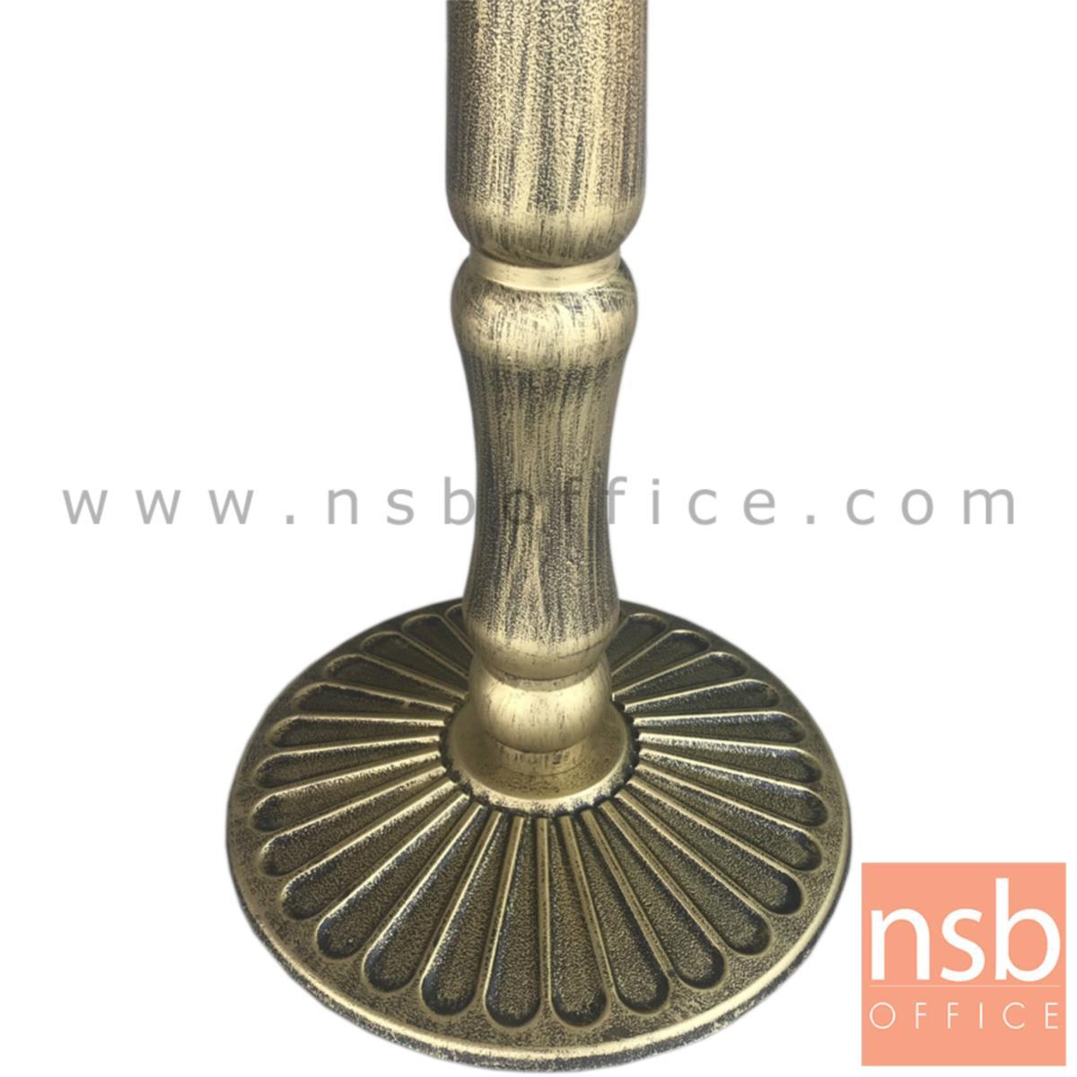 โต๊ะหน้าเมลามีน รุ่น RHINE (ไรน์) ขนาด 80W cm. ขาเหล็กสีทอง