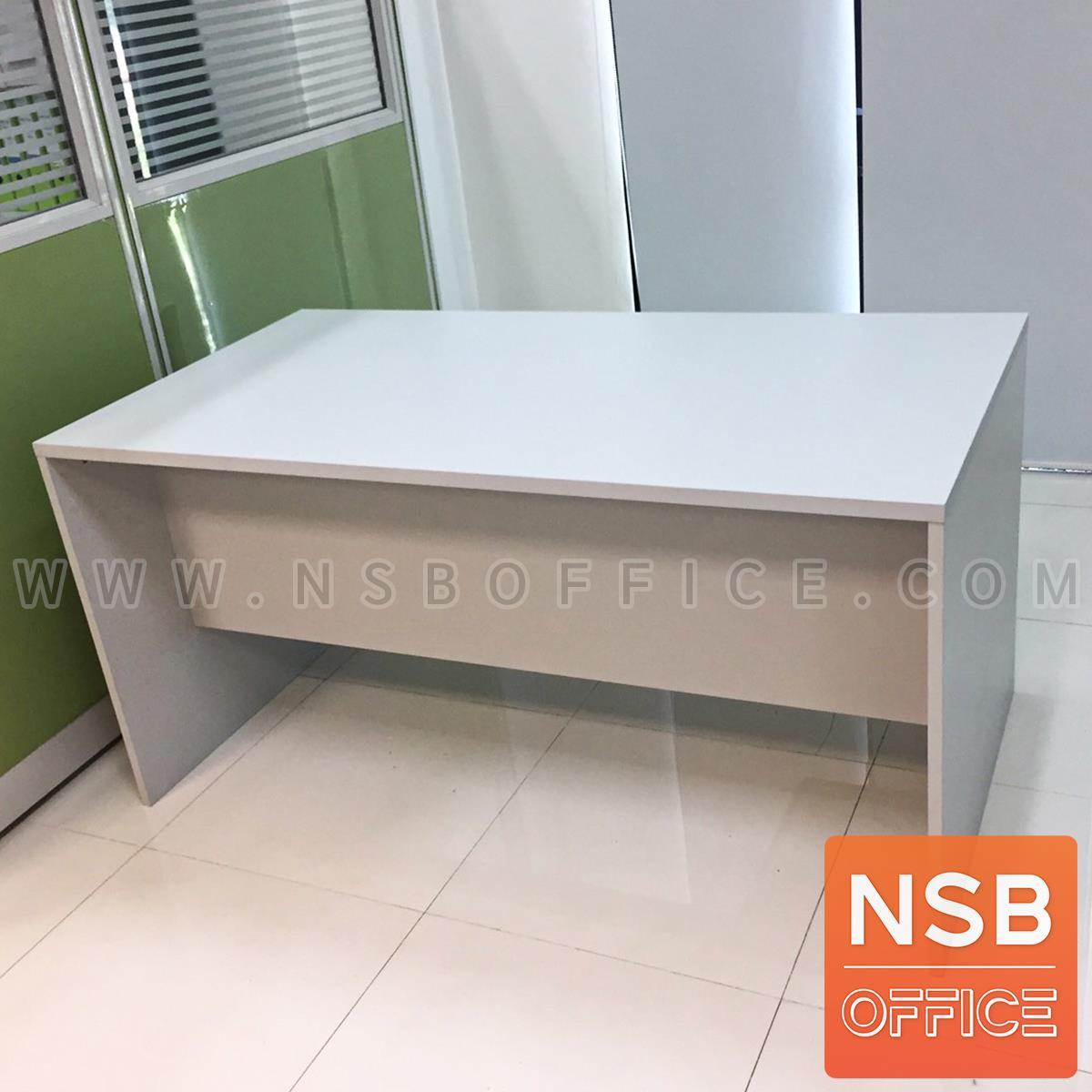 โต๊ะทำงาน 2 ลิ้นชัก รุ่น Clayton (เคลย์ตัน) ขนาด 120W, 135W, 150W, 160W*(60D, 75D, 80D) cm.