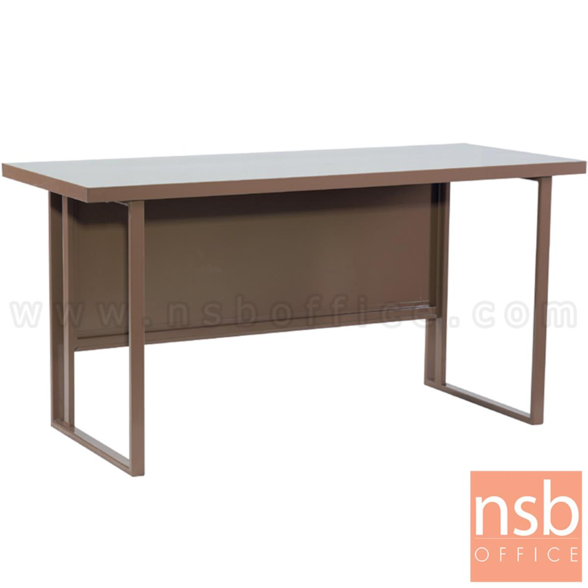 E02A054:โต๊ะทำงานเหล็กโล่ง รุ่น Elayne (เอเลน) ขนาด 120W, 150W cm.