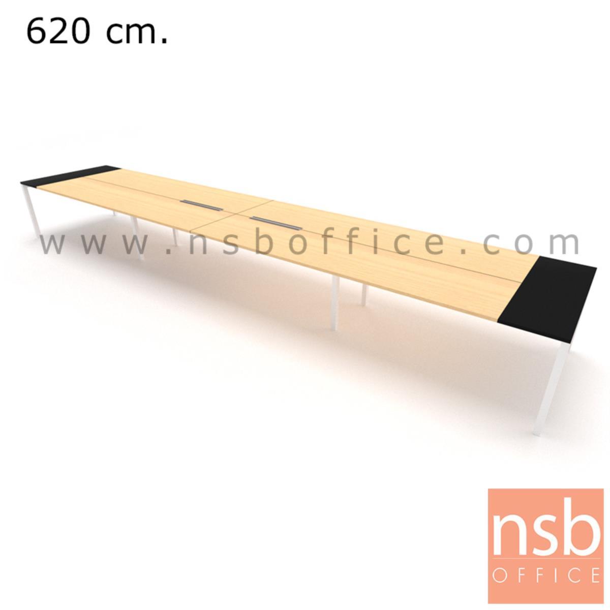 โต๊ะประชุมทรงสี่เหลี่ยม 120D cm. NSB-SQ12  พร้อม popup แบบสองทาง
