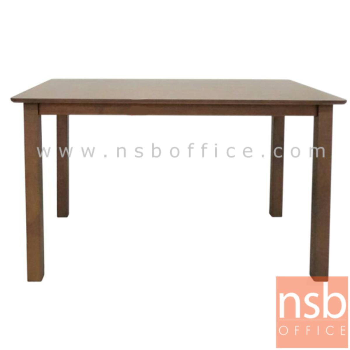 G14A118:โต๊ะรับประทานอาหารหน้าไม้ MDF รุ่น Gottex (ก็อทเท็กซ์) ขนาด 120W cm.