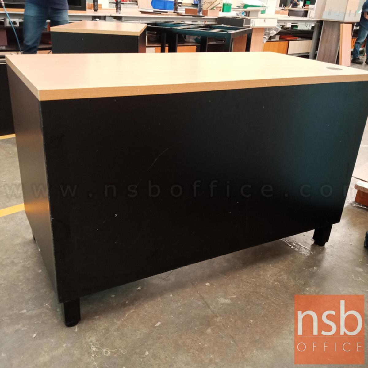 โต๊ะทำงาน รุ่น Valencia (วาเลนเซีย) ขนาด 120W cm. ขาเหล็ก