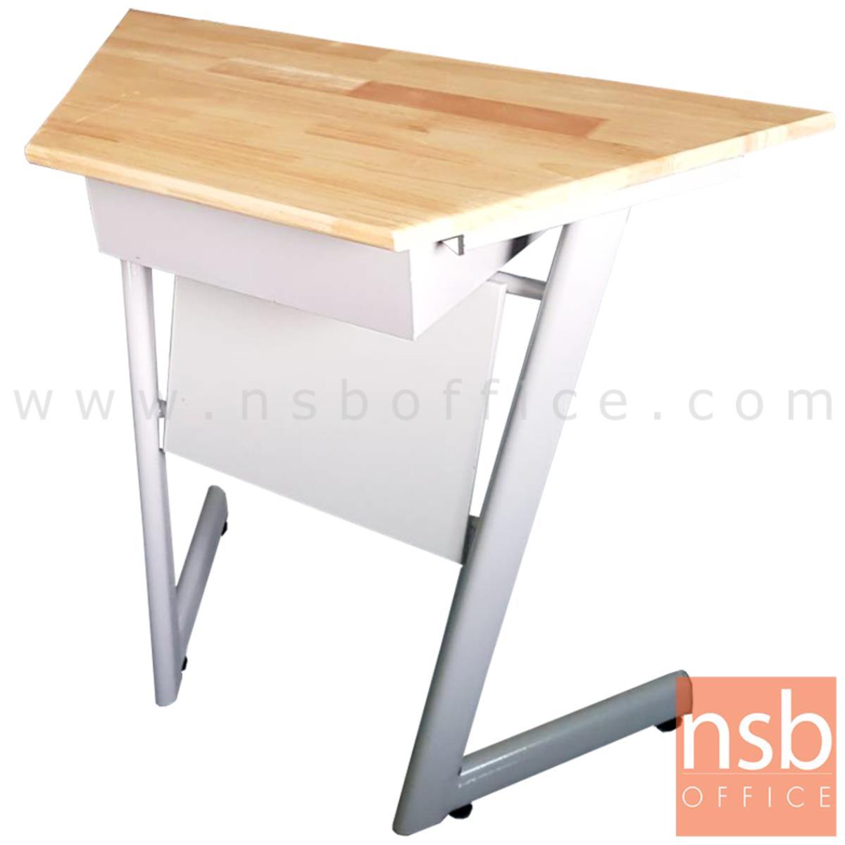 B30A059:โต๊ะเขียนหนังสือ รุ่น Chigan (ชิแกน)   โครงขาสีขาว