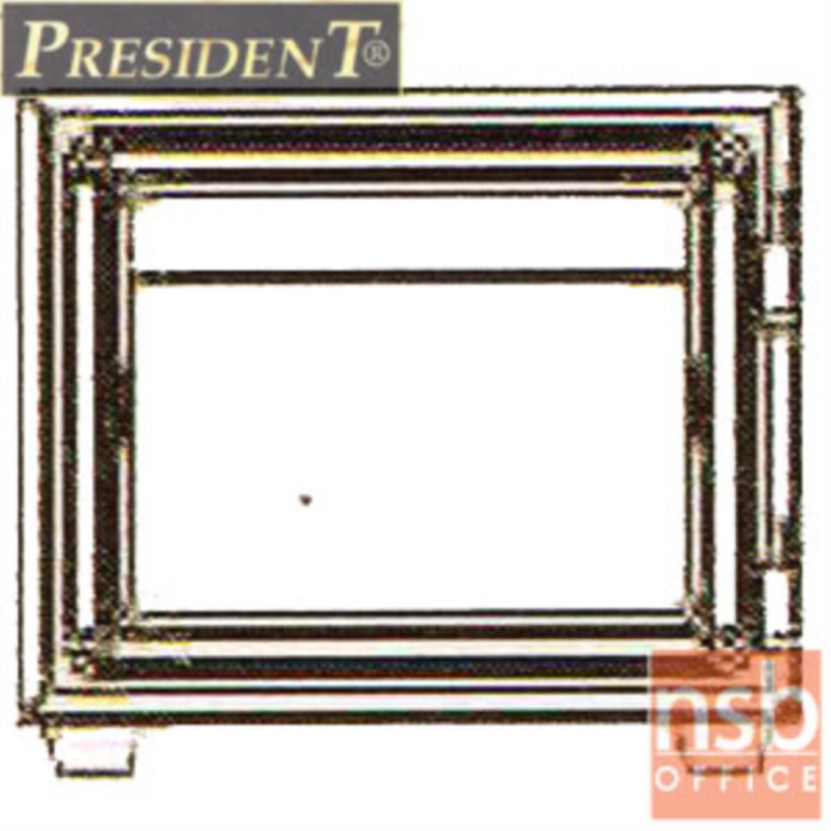 ตู้เซฟนิรภัยชนิดหมุน 28 กก. รุ่น PRESIDENT-LS1 มี 1 กุญแจ 1 รหัส (รหัสใช้หมุนหน้าตู้)