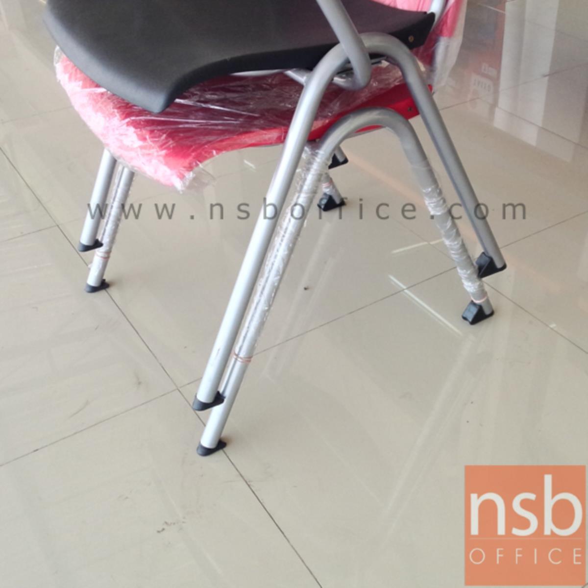 เก้าอี้อเนกประสงค์เฟรมโพลี่ รุ่น Mozen (โมเซน)  ขาเหล็กพ่นสี epoxy