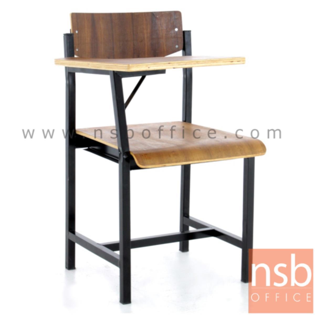 เก้าอี้เลคเชอร์ไม้ รุ่น NEWHAMPSHIRE (นิวแฮมเซียร์)  โครงเหล็ก ระดับประถมศึกษา