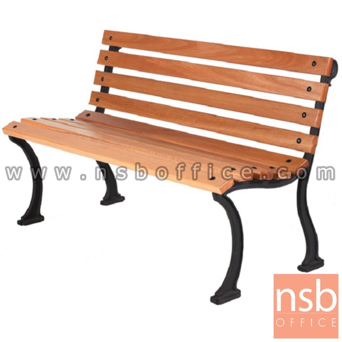 เก้าอี้สนามไม้เต็ง เหล็กหล่อ กทม. BKK-CO20 (100, 120, 150, 200 cm)