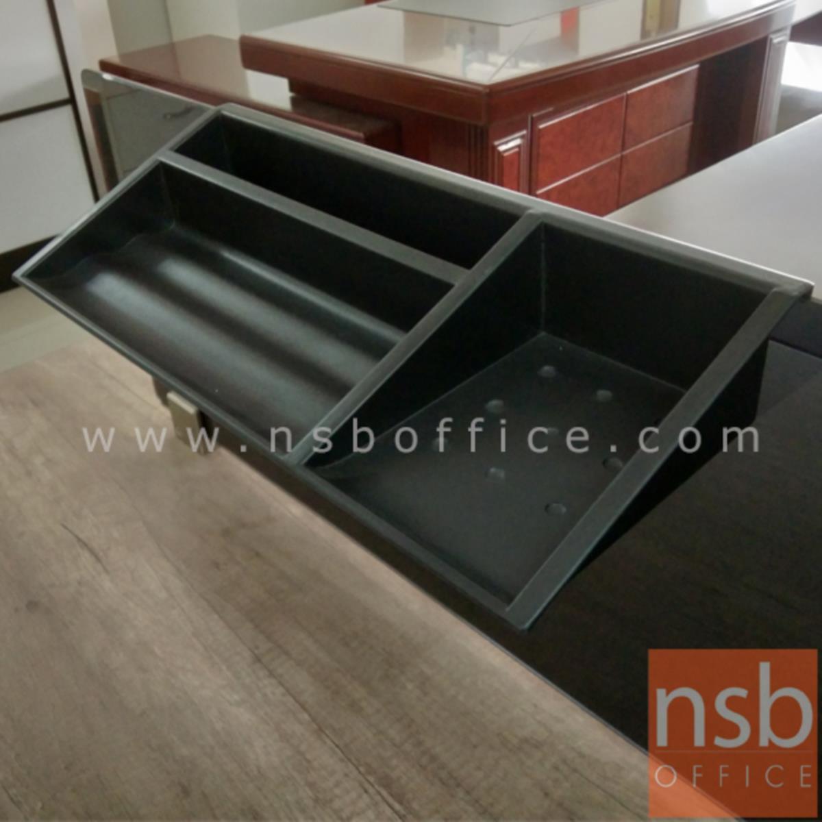 ถาดวางดินสอ  รุ่น CPT-152 ขนาด 37W cm. สำหรับแขวนขอบกระจก miniscreen