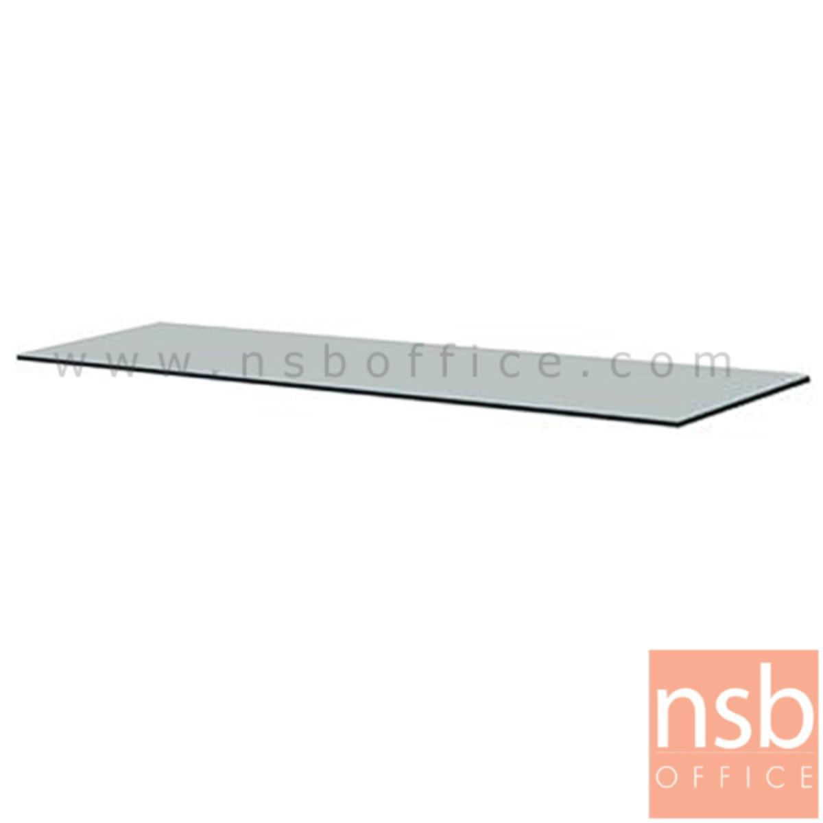 E06A022:กระจกโต๊ะทำงานเหล็ก  3, 3.5, 4, 4.5, 5 และ 6 ฟุต  (จำหน่ายเฉพาะซื้อพร้อมโต๊ะทำงานเหล็ก)