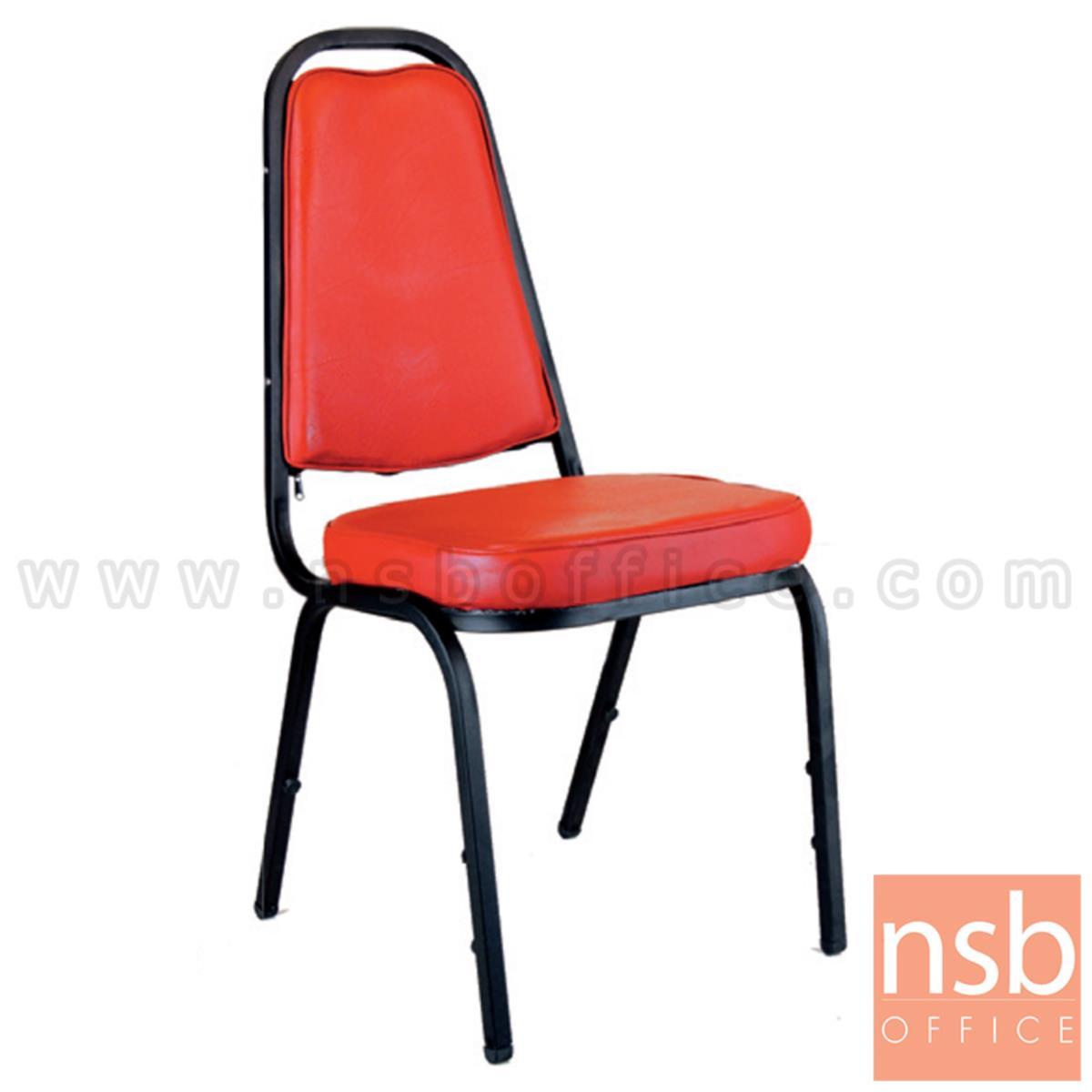 เก้าอี้อเนกประสงค์จัดเลี้ยง รุ่น Brosnan (บรอสแนน) ขาเหล็ก
