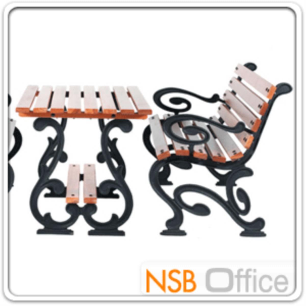 ชุดโต๊ะสนาม พร้อมเก้าอี้ กทม. BKK-COT422 (โต๊ะ 1 + เก้าอี้ 2)