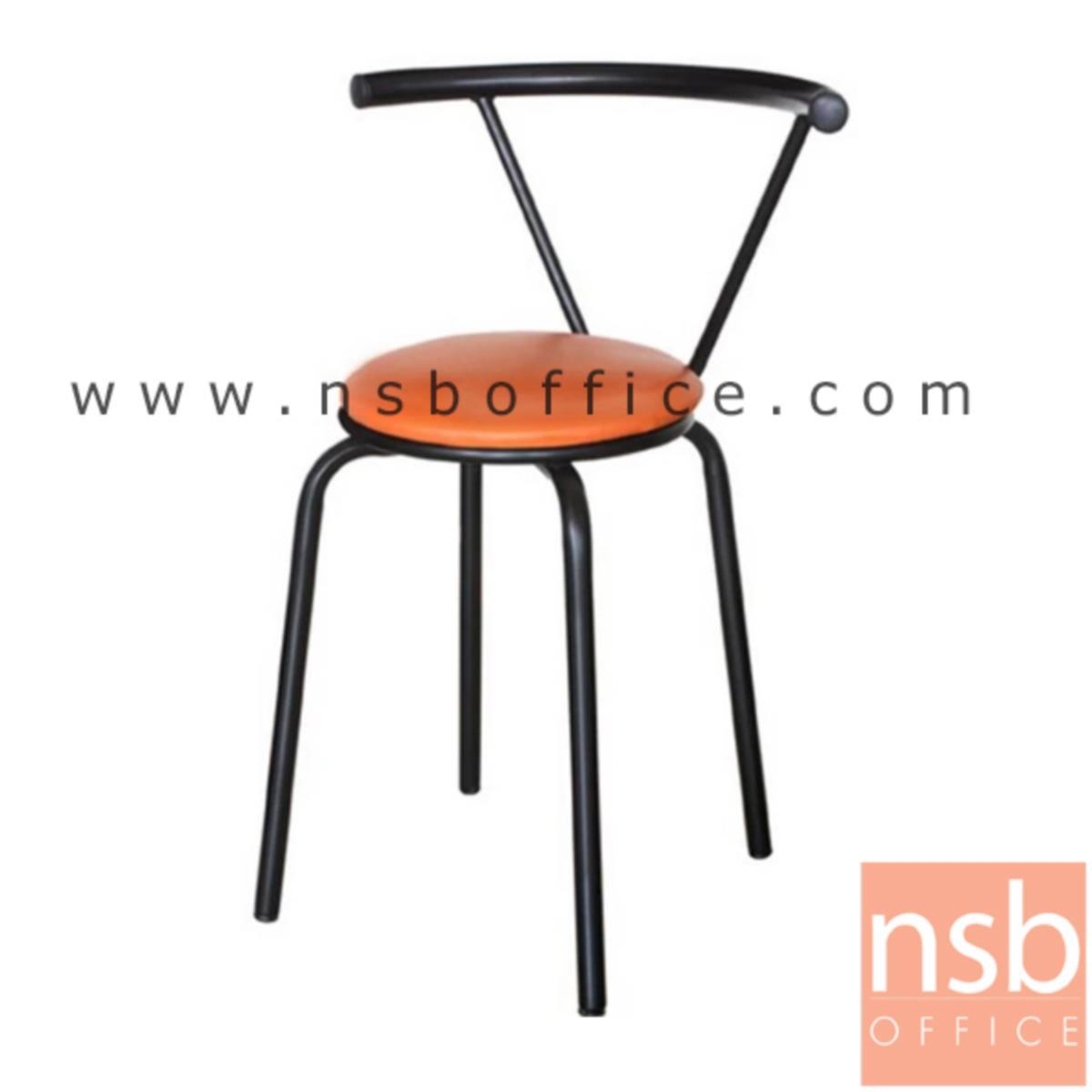 เก้าอี้อเนกประสงค์ไม้ รุ่น Dimond  ขาเหล็กพ่นดำ