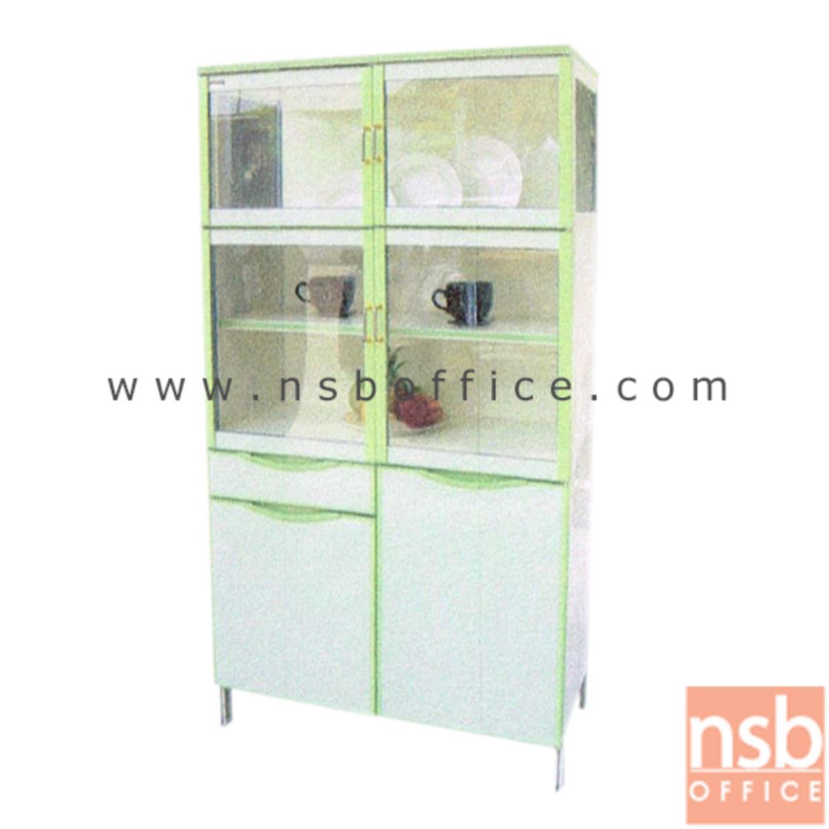 G07A110:ตู้ครัวสูงอลูมิเนียม สูง 170 ซม.  ขนาด 90W*47D*170H cm.