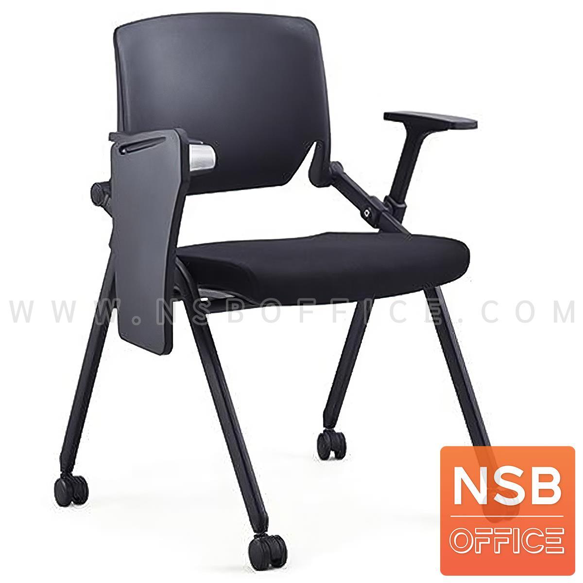 B07A100:เก้าอี้เลคเชอร์ รุ่น Neo (นีโอ)  ขาเหล็กพ่นดำ
