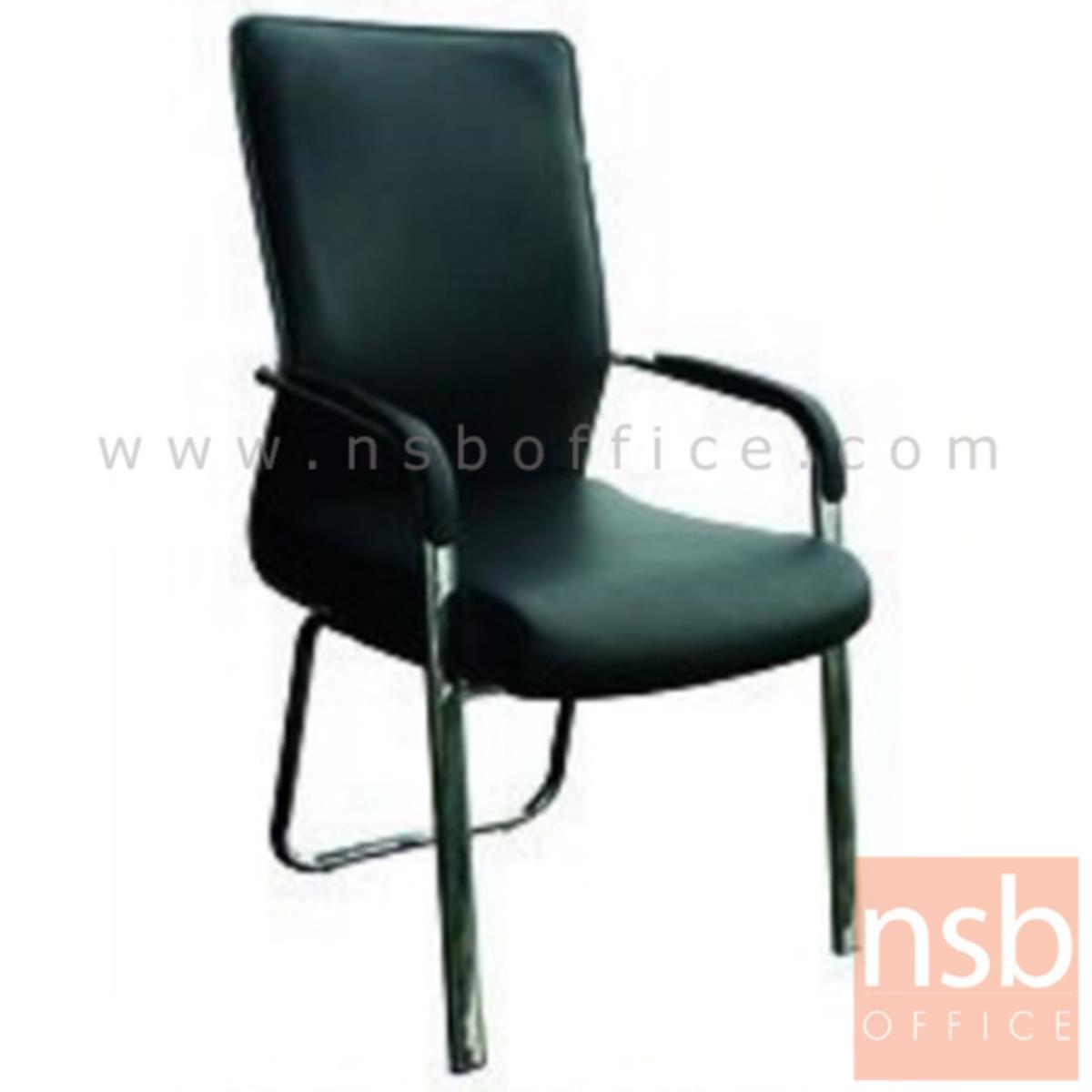 เก้าอี้รับแขก รุ่น ID-ZM3 หุ้มหนังเทียม โครงขาเหล็ก
