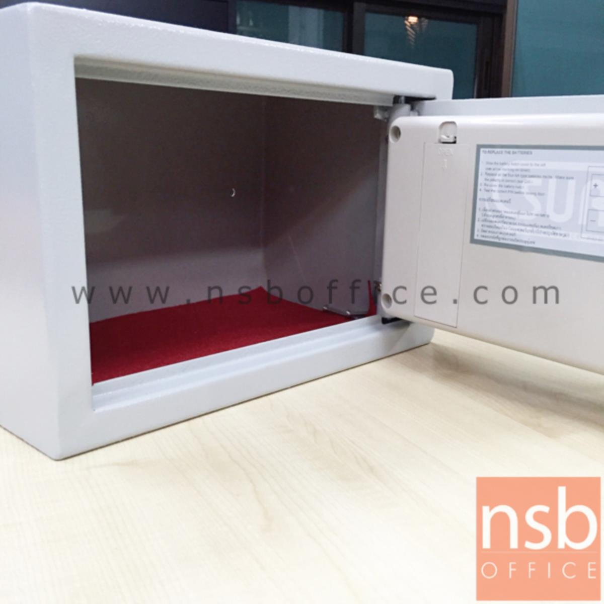 ตู้เซฟดิจิตอล รุ่น SR-ES-700 (1 รหัสกด / ปุ่มหมุนบิด) ขนาด 31W*20D*20H cm.