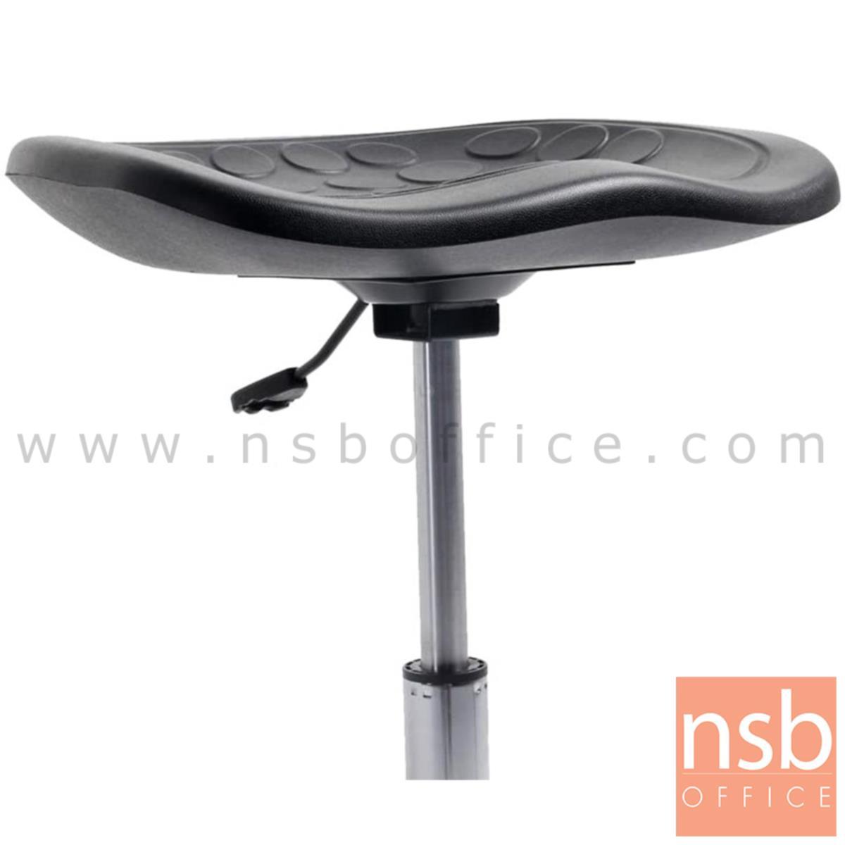 เก้าอี้บาร์สตูลที่นั่งเหลี่ยม รุ่น Denig (ดีนิก)  โช๊คแก๊ส ขาเหล็กชุบโครเมี่ยม