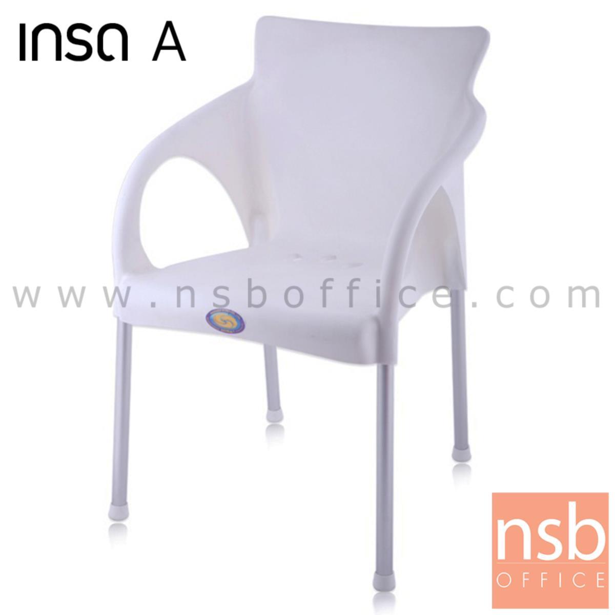 B10A056:เก้าอี้พลาสติก รุ่น HISO_CHAIR ขาอลูมิเนียม (พลาสติกเกรด A)