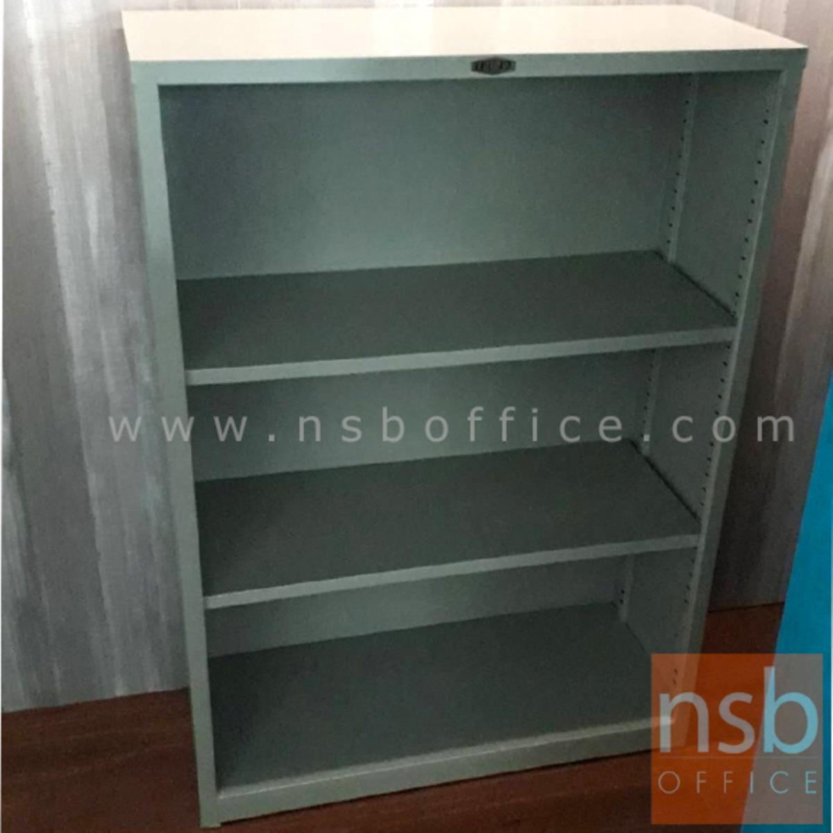 ตู้วางหนังสือ 3 ช่องโล่ง 76.2W*32D*106.7H cm. รุ่น LUCKY-SB-3042