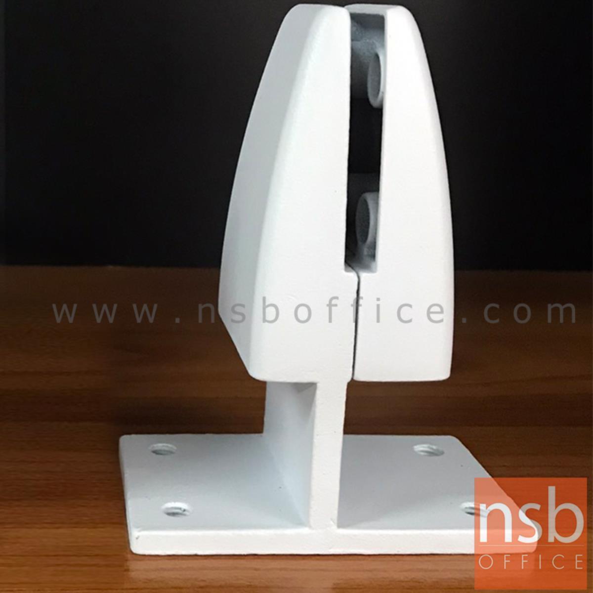 ตัวจับ miniscreen แบบหนีบโต๊ะ 2 ด้าน รุ่น BENZ  สีขาว (ใช้หนีบกึ่งกลางไม้ 2 แผ่น)