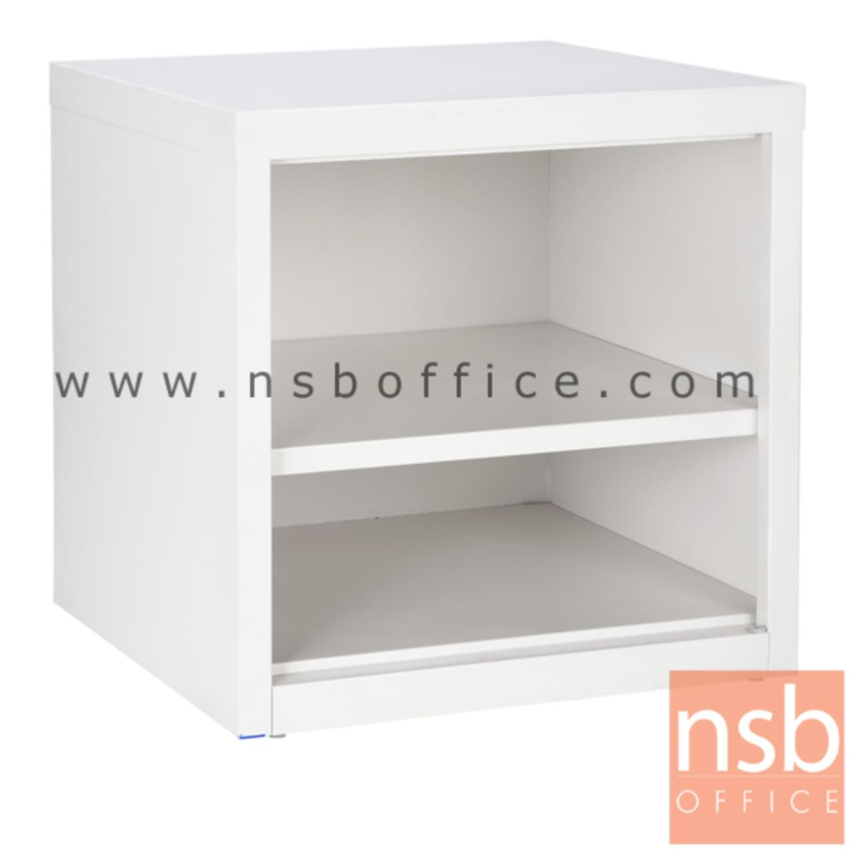 E25A003:ตู้เล็ก 2 ช่องโล่ง สีขาวครีม 44W*40.7D*44H cm. รุ่น UNI-3