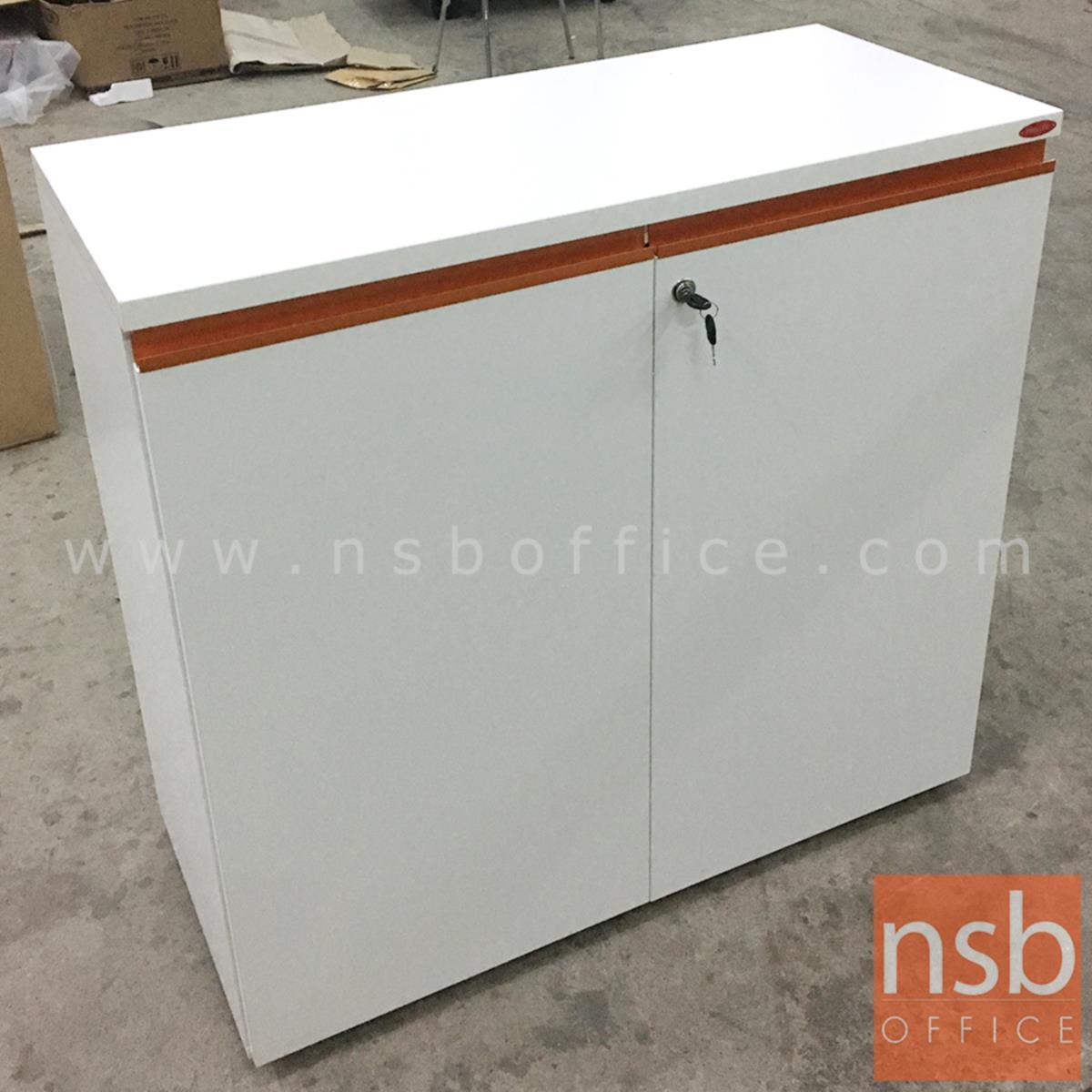 ตู้เอกสารสีสัน สูง 85.5H cm. 2 บานเปิด รุ่น Nightwords (ไนต์เวิร์ด)  ขาตู้ปรับระดับได้