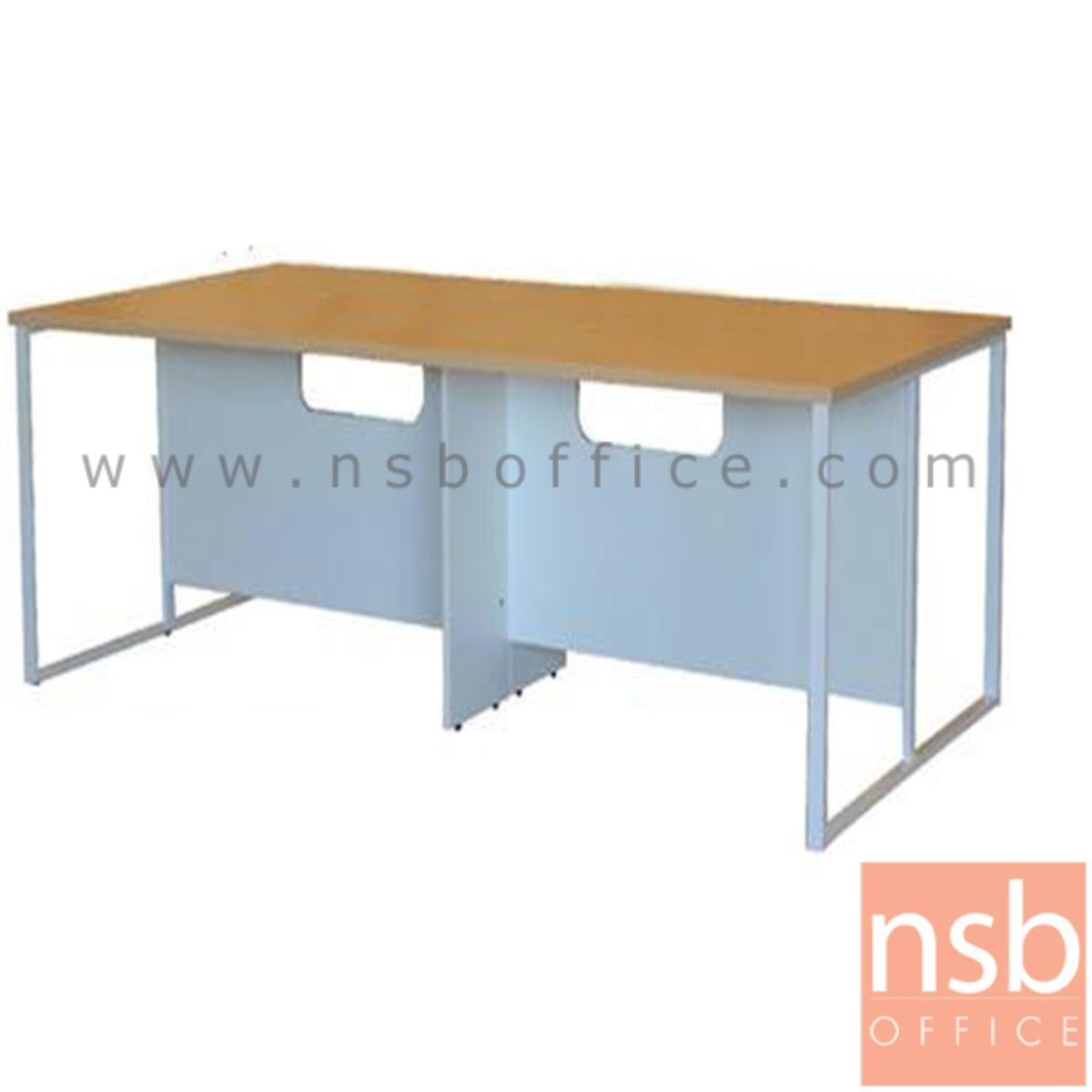 โต๊ะประชุมทรงสี่เหลี่ยมโล่ง รุ่น Gene (จีน) ขนาด 240W cm.
