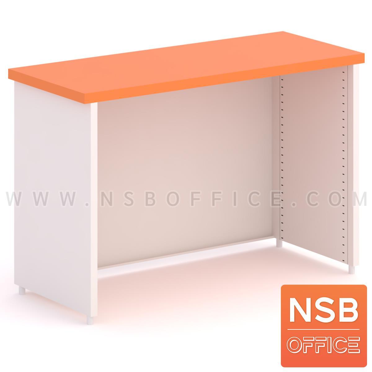E02A058:โต๊ะทำงานเหล็กล้วน รุ่น Felix (เฟลิกซ์)  พ่นสีอีพ๊อกซี่ (EPOXY)