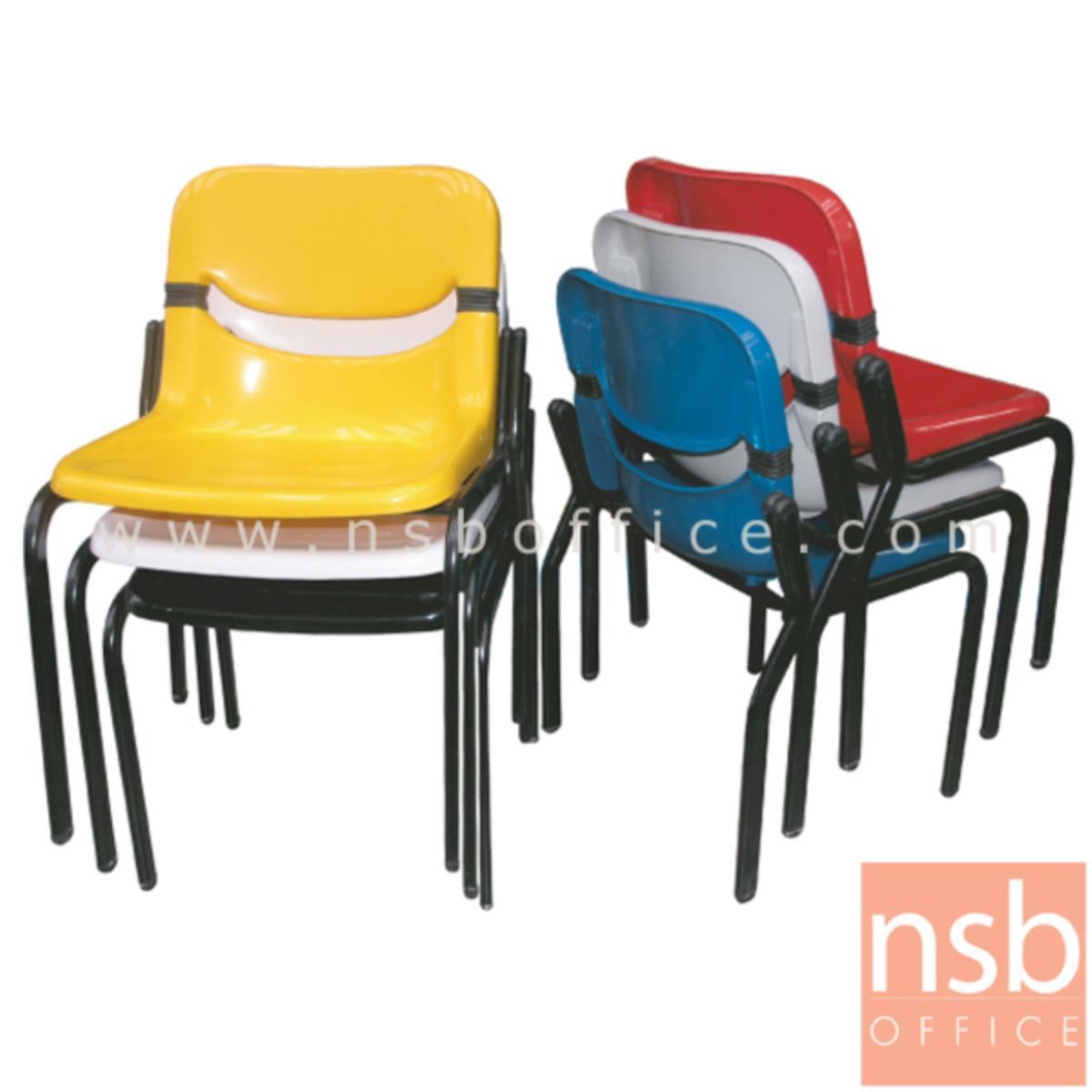 เก้าอี้อเนกประสงค์เฟรมโพลี่ รุ่น KT-XE   ขาเหล็กพ่นดำ