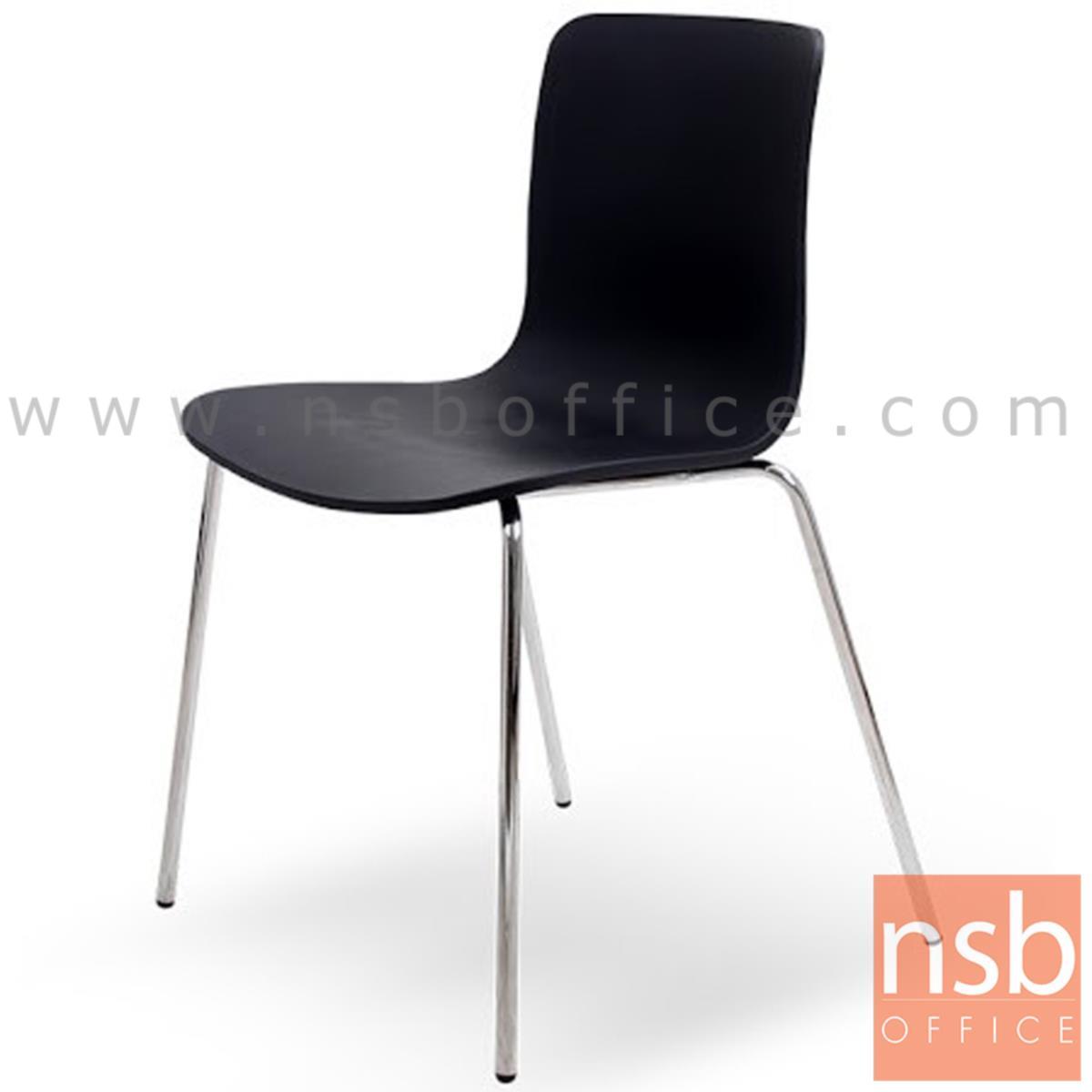 B20A107:เก้าอี้อเนกประสงค์ไม้ดัด รุ่น  Elder (เอลเดอร์)  ขาเหล็กชุบโครเมี่ยม