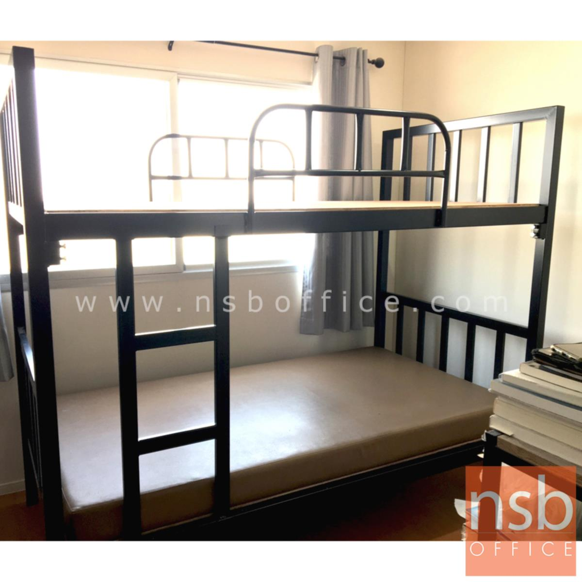 เตียงเหล็ก 2 ชั้น ขนาด 3.5 ฟุต   เหล็กหนาพิเศษ