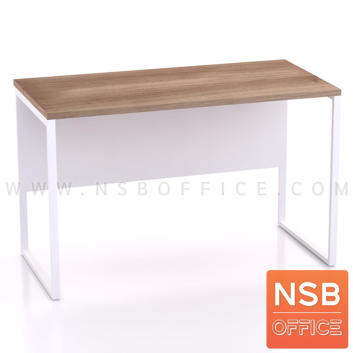 A18A037:โต๊ะทำงานทรงสี่เหลี่ยม รุ่น Moschino (มอสคิโน่) ขนาด 80W ,120W ,135W, 150W ,160W cm. ขาเหล็กกล่องพ่นสี
