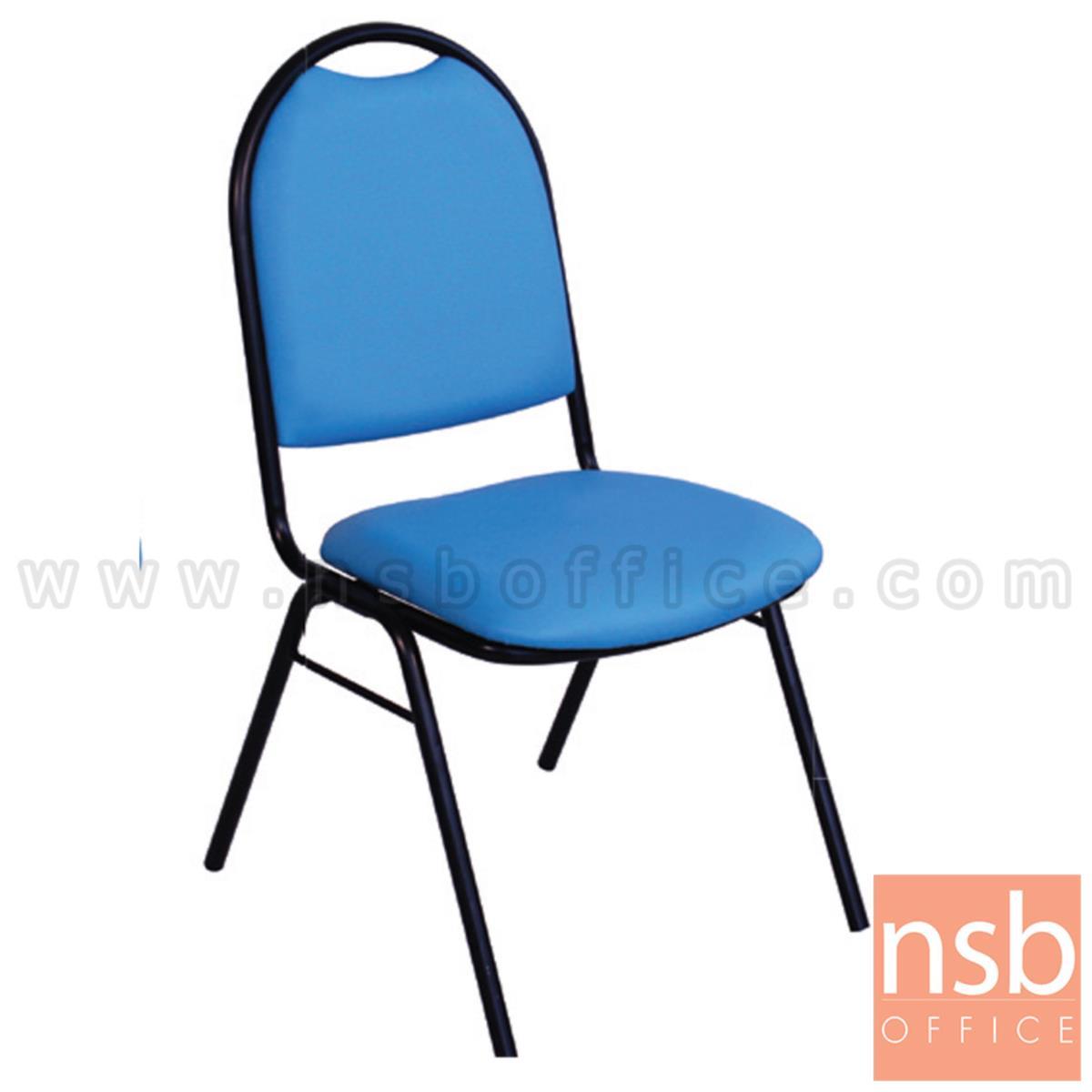 B08A085:เก้าอี้อเนกประสงค์จัดเลี้ยง รุ่น Barzaar (บาร์ซาร์) ขนาด 90H cm. ขาเหล็ก