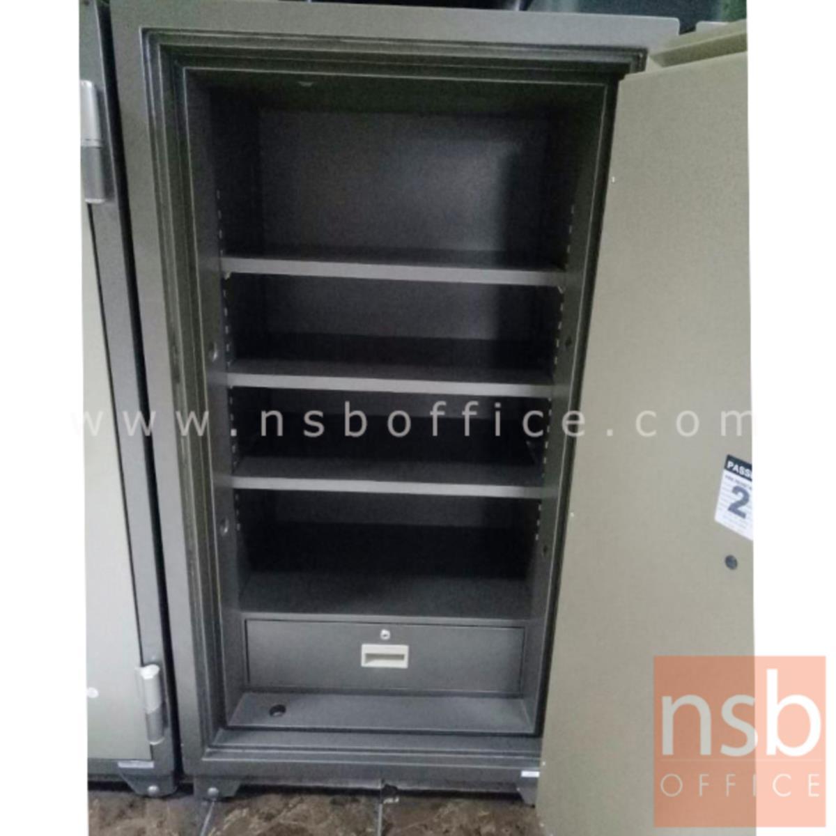 ตู้เซฟนิรภัยชนิดดิจิตอล 250 กก.  รุ่น PRESIDENT-SB50D   มี 1 กุญแจ 1 รหัส (รหัสใช้กดหน้าตู้)