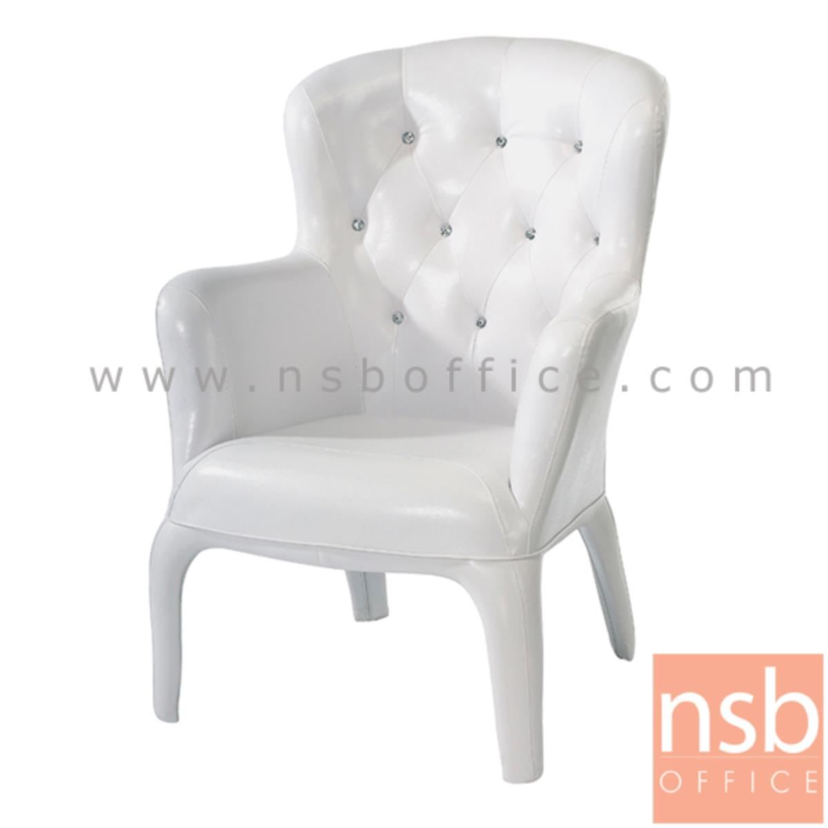 เก้าอี้ตัวเดี่ยวหนัง PU  รุ่น PP92054 ขนาด 74W cm.