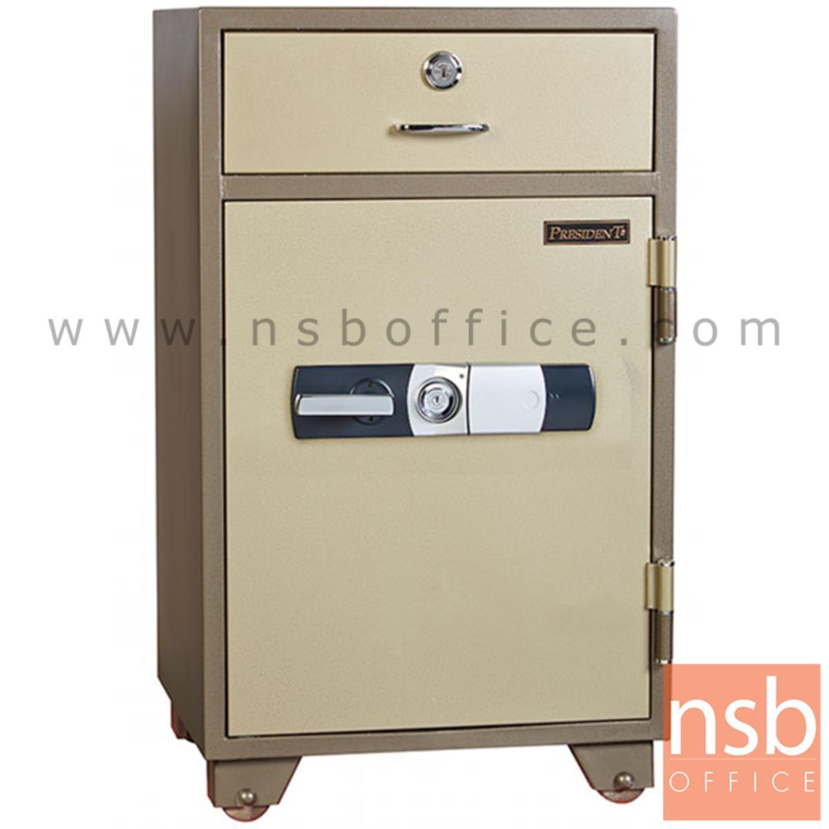 F05A075:ตู้เซฟนิรภัยชนิดดิจิตอล รุ่น PRESIDENT-ND-150D  มี 2 กุญแจ 1 รหัส (รหัสใช้กดหน้าตู้)