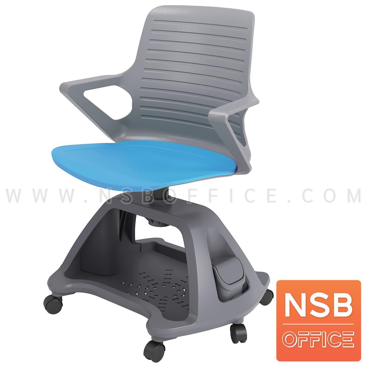 B30A053:เก้าอี้เฟรมโพลี่ล้อเลื่อน รุ่น Rhine (ไรน์) วางกระเป๋าได้