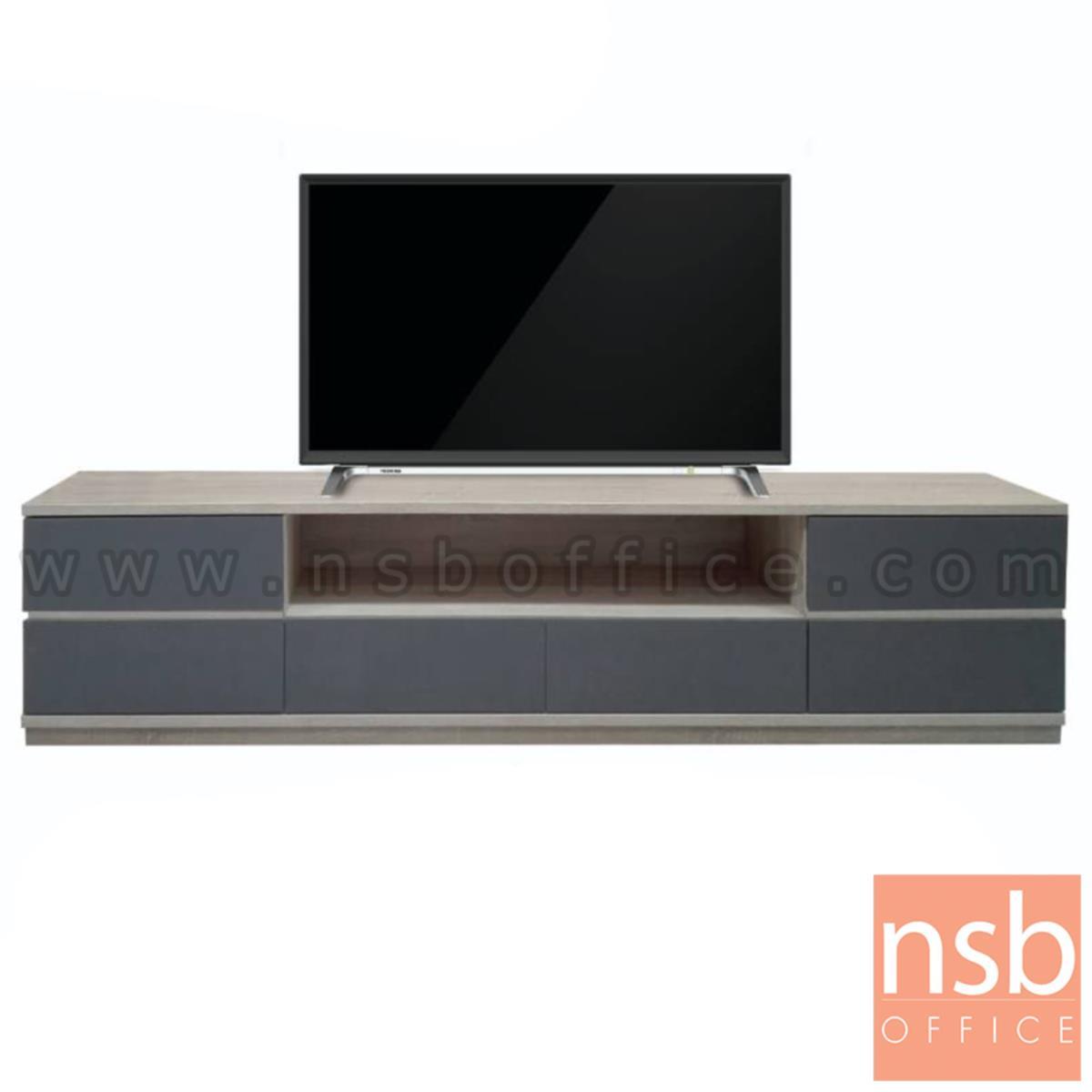 C08A062:ตู้วางทีวีไม้ รุ่น Garena (การีน่า)  ไม้ปาร์ติเกิลบอร์ด