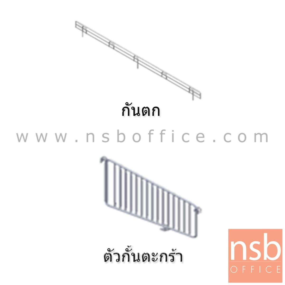 ชั้นวางสินค้า 1 หน้าหลังพัลชิ่งแบบตะกร้า รุ่น FIERCE (เฟียร์ซ) 40D cm.