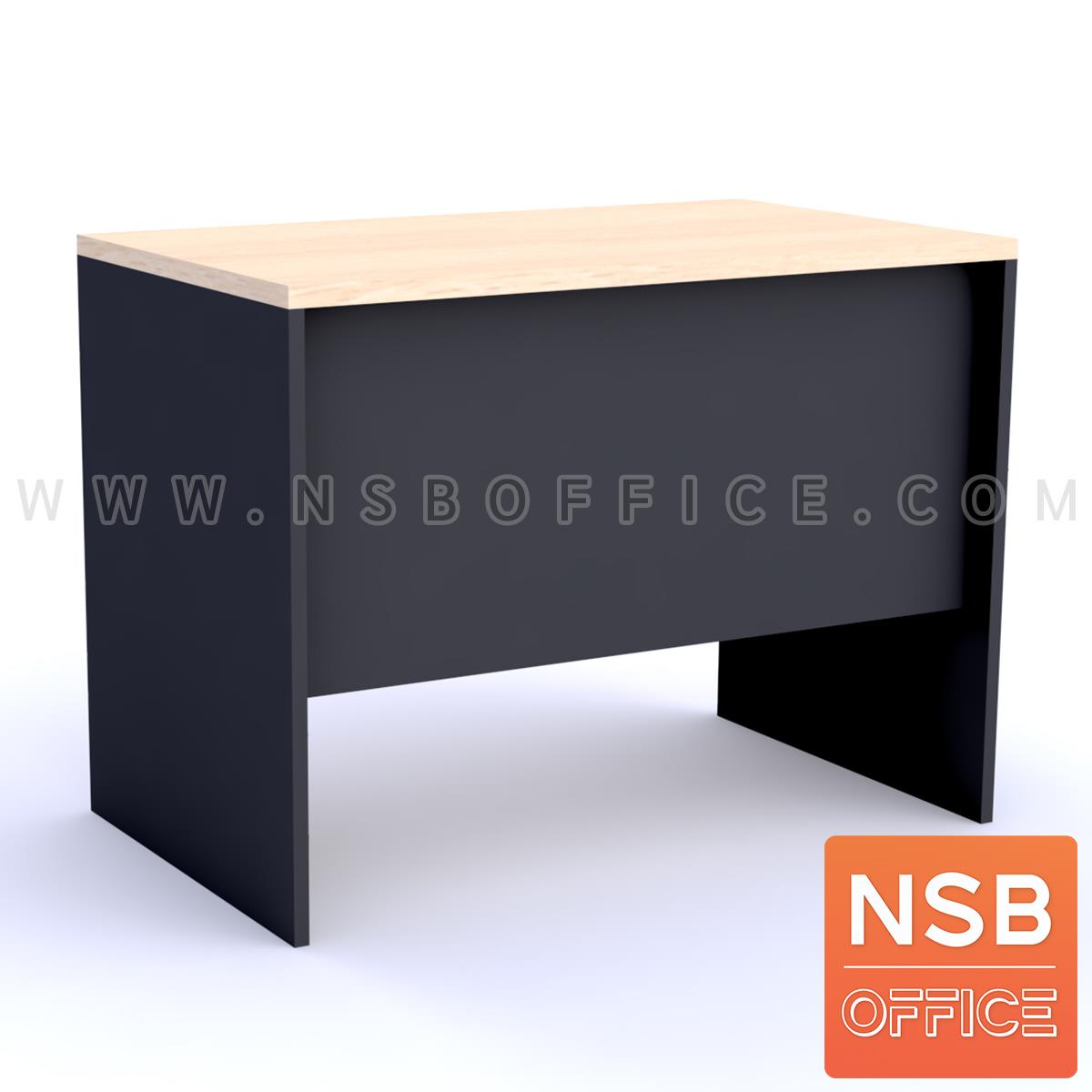 โต๊ะทำงาน 3 ลิ้นชักบานเพ่  ขนาด 100W ,120W ,135W ,150W cm.  เมลามีน