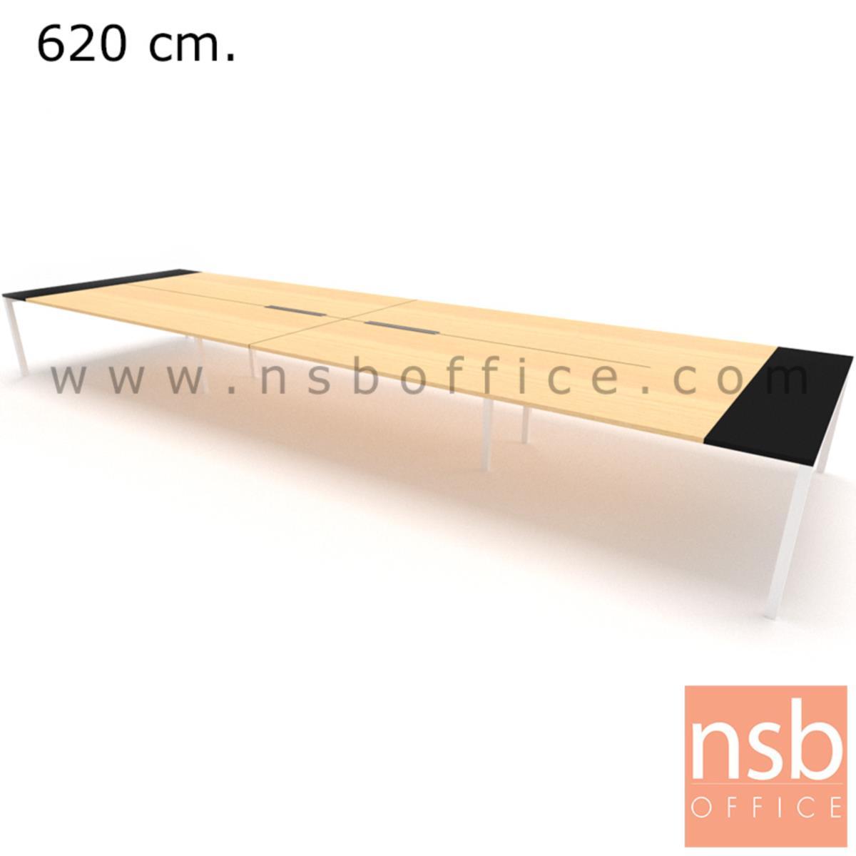 โต๊ะประชุมทรงสี่เหลี่ยม 180D cm. NSB-SQ18  พร้อม popup แบบสองทาง