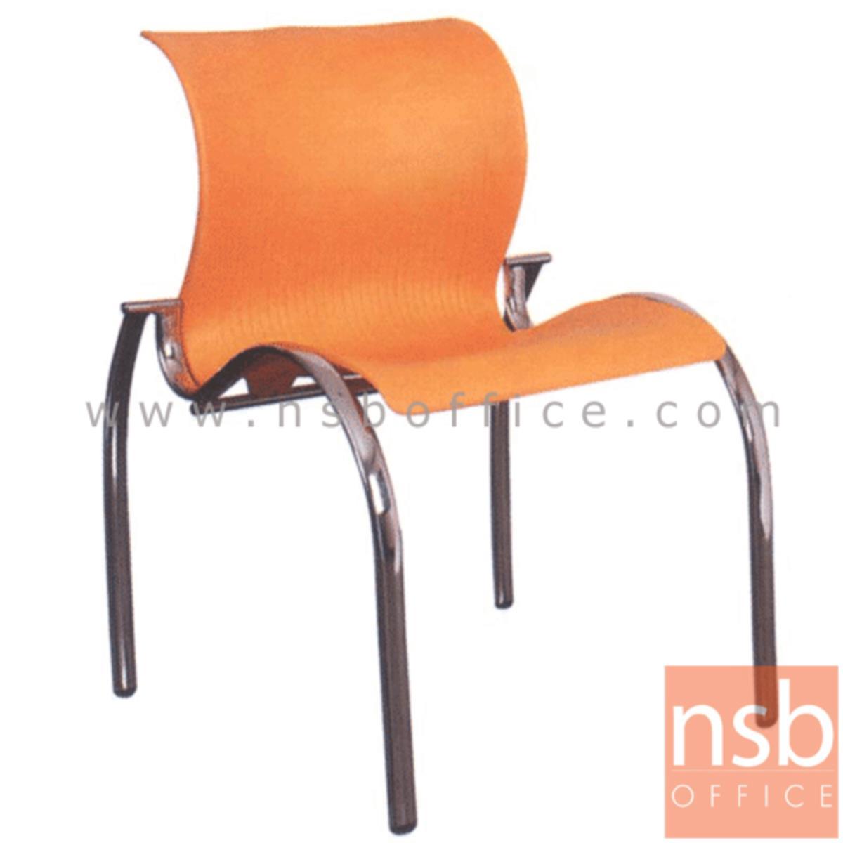 B05A038:เก้าอี้อเนกประสงค์เฟรมโพลี่ รุ่น A4-501 ขาเหล็ก