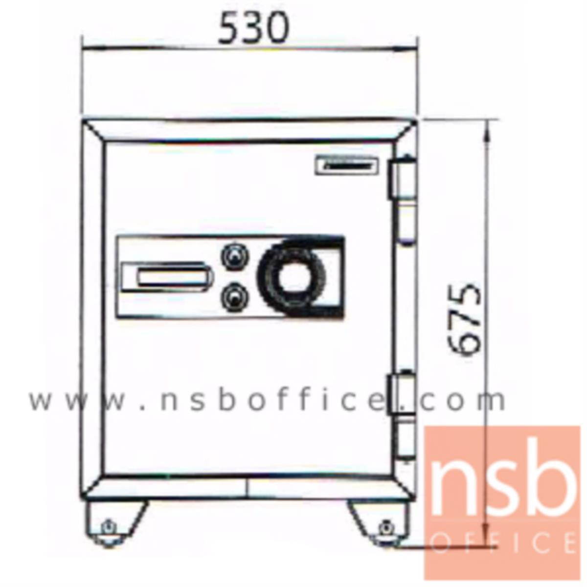 ตู้เซฟนิรภัยชนิดหมุน 110 กก. รุ่น PRESIDENT-SB20 มี 2 กุญแจ 1 รหัส (รหัสใช้หมุนหน้าตู้)