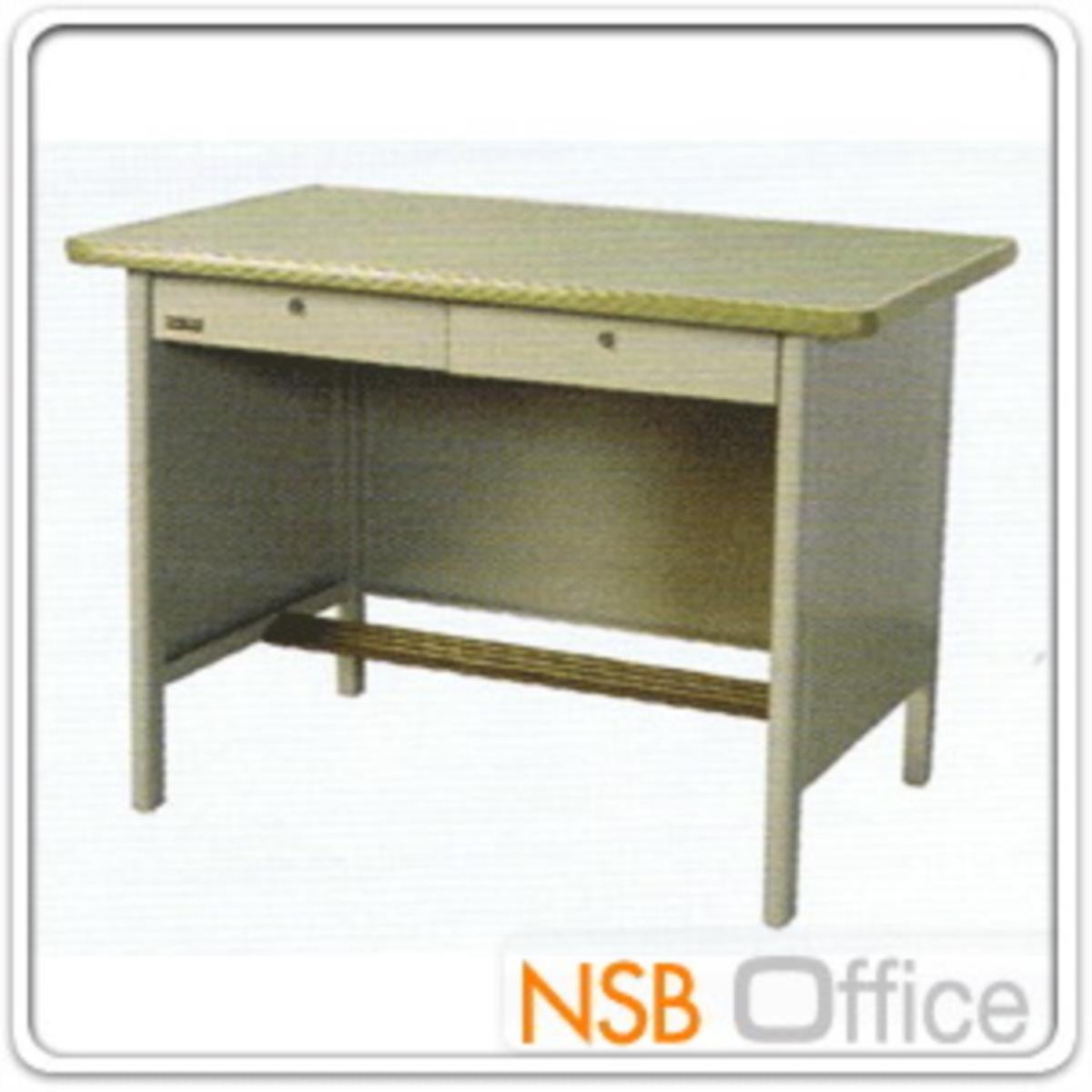 โต๊ะทำงานเหล็ก 2 ลิ้นชัก รุ่น M-13,M-14,M-15,M-11,M-12  พร้อมกระจก