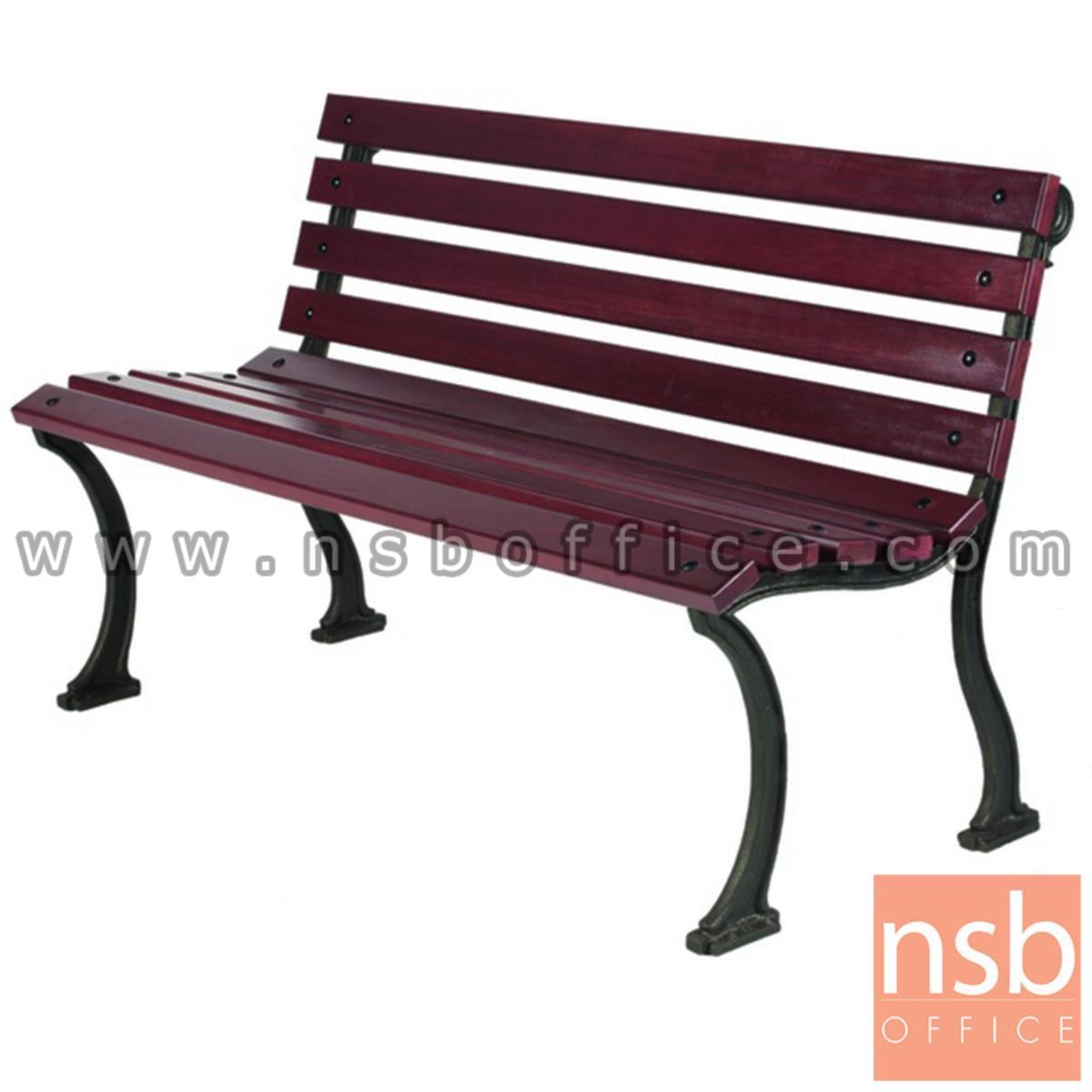 G08A037:เก้าอี้สนามไม้เต็ง เหล็กหล่อ กทม. BKK-CO20 (100, 120, 150, 200 cm)